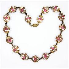 Italian Murano 'Wedding Cake' Necklace