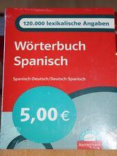 Wörterbuch Spanisch 120.000 lexikalische Angaben, neu u. unbenutzt/OVP!