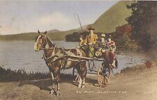 IRELAND : An Irish Jaunting Car -VALENTINE'S