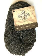 IMPERIAL YARN Oregon Stock Ranch Columbia 2PLY Mulespun 04 Charcoal Natural Wool