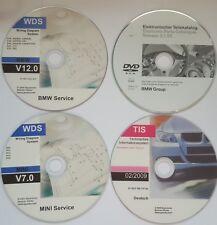 BMW TIS 02/2009,ETK 01/2018,WDS V 12.0,WDS V 7.0 E90 E63 E65 E66 R50 ect. Mini