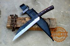 12 inches Blade Hand forged Seax knife-Seax cleaver-kukri-khukuri-handmade knife