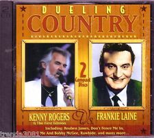 Dueling Country KENNY ROGERS FRANKIE LAINE 2CD Classic 60s 70s REUBUN JAMES