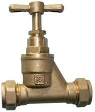 54mm Brass Stopcock - Compression