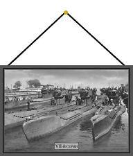 Russische U - Boote Blechschild Schild mit Kordel Tin Sign 20 x 30 cm FA0669-K