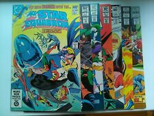 DC COMICS..All Star Squadron.Issue 2-3-4-5-8-9-10 Oct 1981 to June 1982