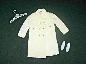 Vintage Francie #1289 Note The Coat Outfit Complete Circa 1967 HM6