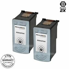 2 PG40 PG-40 0615B002 BLACK Print Ink Cartridge for Canon Pixma mx310 Fax JX200