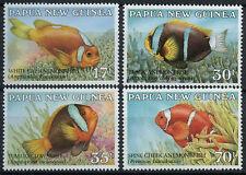 Papua New Guinea 1987 SG#539-542 Anemonefish MNH Set #A83509