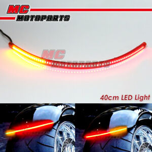 AMP-Z 42cm Red with Signal Light LED Tail Light bar Tube For Kymco motorcycles