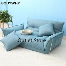 Foldable Floor Mini Sofa Bed Adjustable Double Sofa Furniture Room Folding Sofa