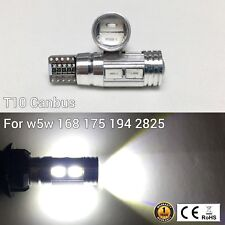 T10 W5W 194 168 2825 12961 Parking marker corner Light 6K 10 SMD Canbus LED M1 M