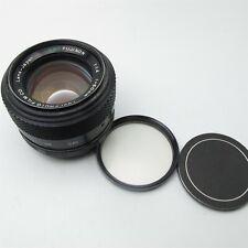 Fuji EBC Fujinon 50mm f/1.4 MF Lens M42 mount Japan made Very Nice