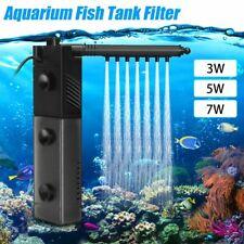 220V 3in1 Aquarium Fish Tank Oxygen Spray Internal Filter Water Submersible Pump