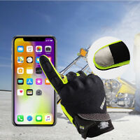 Motorcycle Motorbike Gloves Summer Glove Full Finger Screen Touch Cycling Racing