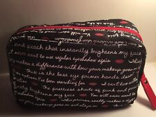Laura Geller zippered cosmetic travel bag with 12 Sephora Samples + 2 Vials FREE