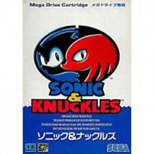 Used Sonic and Knuckles Mega Drive JP GAME.