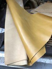 Peaux cuir/simili couleur Camel