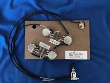 Guitar Wiring Upgrade Harness K40Y-9 PIO Caps Fits Gibson Epiphone ES175 ES295