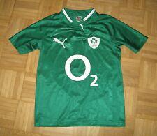 2012-13 IRFU Ireland Rugby Home Shirt Puma _size 14/164  ,32/34