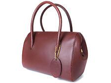 Authentic CARTIER Cartier Must De Vintage Bordeaux Hand Bag CS13936L