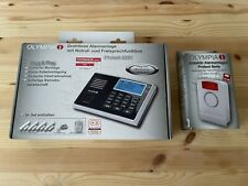 Olympia Alarmanlage GSM Hausalarm Protect 9061S Starter Set mit Außensirene