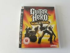 Guitar Hero World Tour game for PS3
