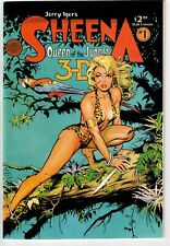 SHEENA QUEEN OF THE JUNGLE 3-D #1 1985 WITH GLASSES NICE!