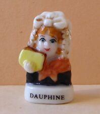 Fève pub La Fournée Dorée - 2002 - Coiffes de nos Régions : Le Dauphiné