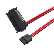 SFF-8482 SAS 22Pin(7p +15p) to SATA 7Pin HDD Power Data Cable 0.5cm