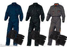 Delta Plus Panoply M2COM Mach2 Overalls Coverall Boilersuit + FREE Foam Kneepads