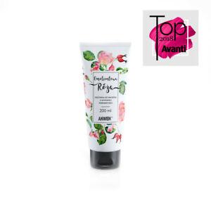 ANWEN Róża Emolientowa odzywka do wlosow ROSE hair conditioner 200ml FREE PP