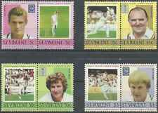 Timbres Sports St Vincent 796/803 ** lot 572
