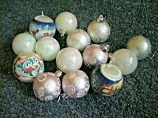 Selection of Assorted Christmas Tree Baubles