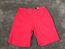 M&S  Women Hot Pink 100% Cotton Casual Shorts BNWT Size 12 Free Sameday Postage