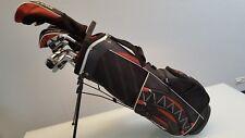 NEUE Golfschläger LINKSHAND Golfset Komplettset Marke: BAY HILL (Art ExtGLH101)