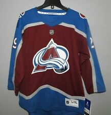 NHL Home #29 Colorado Avalanche Hockey Jersey New Youth L/XL