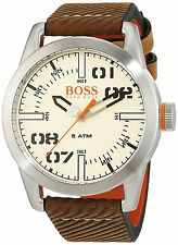 Hugo Boss Leather Mens Watch 1513418
