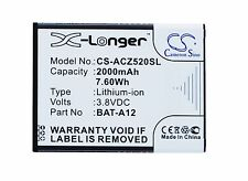 Battery for ACER Liquid Z520, Liquid Z520 Dual SIM, BAT-A12, KT.00104.002