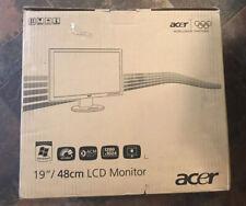 "ACER B193 DJbmdh MONITOR 19"" NEW-OPEN BOX"