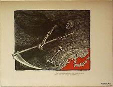 Aux victimes de la guerre russo-japonaise (1904 - Ex. de tête s/Japon - Illustr)