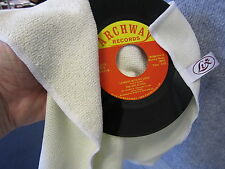 Microfibre Damp or Dry Vinyl 45 Record Cleaning Cloth