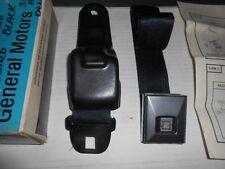 1967, 1968, 1969 FIREBIRD CAMARO DELUXE SEAT BELTS 8700691 *NOS BLACK LH PONTIAC