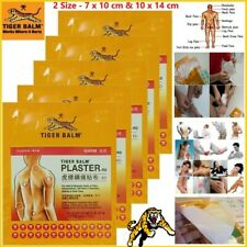 Tiger Balm Plaster-Rd Warm Patches/Box Medicated Pain Relief 10cm x 14cm New
