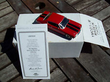 MATCHBOX 1970 CHEVROLET CHEVELLE SS HARDTOP, MIB WITH CERT. OF AUTHENTICITY
