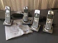 Panasonic Kx-tG1031S Digital Phone System w/ 3 Additional Kx-Tga101 Handsets