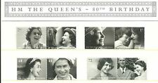 GB Presentation Pack 383 2006 H.M. The Queen's 80th Birthday