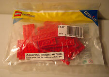 LEGO System Service Pack 5147 Red Plates New In Package