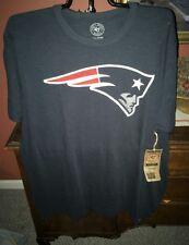New England Patriots 47 Brand Logo Men's Scrum t-shirt NWT Size Medium