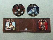 Everquest II 2 disc's DVD Rom PC Video Game Sony Online 2004